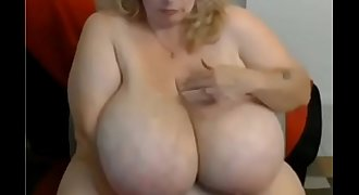 Bbw mature huge tits from webcamhooker.us