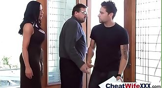 Intercorse On Cam With Sluty Cheating Wifey (sybil stallone) video-25