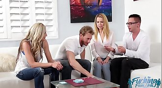 Alina West in Fucking Family Game Night