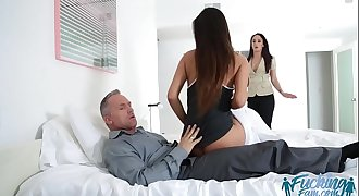 Katya Rodriguez banged by her stepdaddys colossal dick
