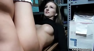 Public Pickups - Amateur Euro Slut Fucks For Cash Outdoor 22