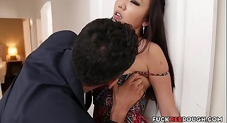 American-Japanese Rough Fucked For Not Paying Rent