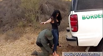 Hot cop threesome and four cops Stunning Mexican floozie Alejandra