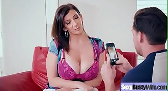 Sex Tape With Busty Naughty Housewife (Sara Jay) clip-22