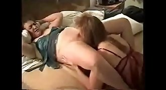 My horny sapphic wifey licking her best friend. Home made